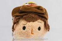 Woody (Toy Story) at Tsum Tsum Central Toy Story, Tsum Tsum Characters, Disney Tsum Tsum, 25th Anniversary, Woody, Walt Disney, Winter Hats, Plush, Teddy Bear