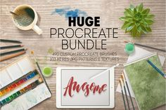Limited time ONLY! HUGE PROCREATE BUNDLE By Merrie Moore Designs