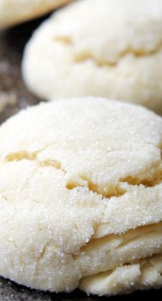 """Lemon Pillow Cookies 
