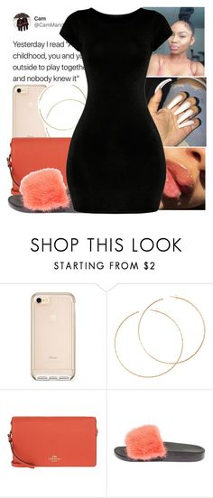 """""""-CONTEST⛼-"""" by bxtchslayy ❤ liked on Polyvore featuring H&M, Coach and Givenchy"""