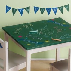 chalkboard paint ideas - plus how to make homemade chalk