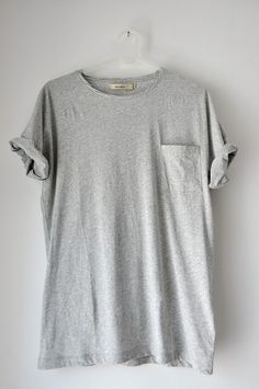 I've been searching for a perfect gray tshirt. Not quite what I'm looking for, but close.