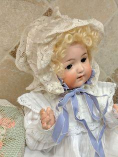 Heubach Koppelsdorf 320 antique bisque head breather baby doll
