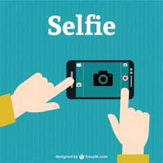 Selfie Photograpy Free Vector