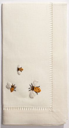 Find our collection of beehive decor and bee motif decorations. Our beehive shoppe has beehive decor for your kitchen or home. Decorating with bee decor and brightly colored bees can make your home feel light and enjoyable. Bee Embroidery, Cross Stitch Embroidery, Embroidery Patterns, I Love Bees, Bee Art, Bee Happy, Bees Knees, Needlework, Decoration