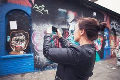 Capturing street art in London