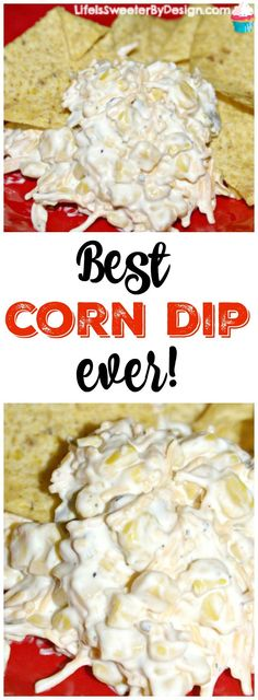 A spicy corn dip that you can't help but LOVE! Quick and easy to make...a great appetizer recipe for parties or tailgating!