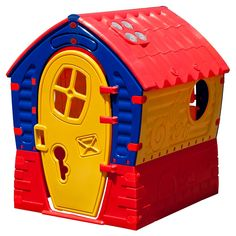 TP Toys Dream House - Red, Blue, Yellow-001 Multi-colored