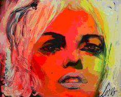 Corno à Dubaï. A piece of Canada in Dubai, à l'Opera Gallery, du 10 au 24 septembre 2013 Pop Art, Studios, Photo Print, Marilyn Monroe Art, Portraits, Colorful Paintings, Canadian Artists, Korn, Heart Art