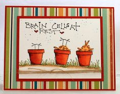 Stamps by Judith                                                                   May Arts Burlap String