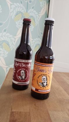 Red Oat Ale und Bloom's Beer von Spent Brewers Collective