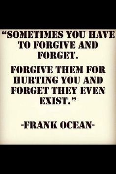 frank ocean-so true in all relationships!