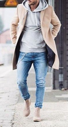 Men winter fashion 435090013999881532 - Here is a quick and pocket friendly style guide for the winter that will make sure you look at the top of your game! Winter Outfits Men, Winter Fashion Boots, Stylish Mens Outfits, Winter Boots, Fall Fashion, Simple Outfits, London Fashion, Mens Fashion Blog, Fashion Mode