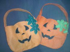 Bolsas para los dulces de Halloween