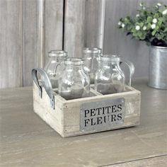 Biggie Best Set of 3 Bottles in Wooden Petites Fleurs Box