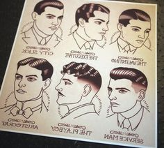 Mens 1920s Hairstyles