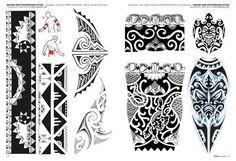 Tribal Maorí Y Polinesios - Tattoo Flash Dibujos - Tattoo