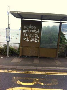 Wise street art