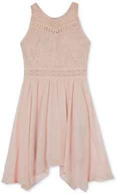 5af416dc745 BCX Big Girls Lace-Bodice Dress   Reviews - Dresses - Kids - Macy s.  Asymmetrical DressMaxi RomperLace ...