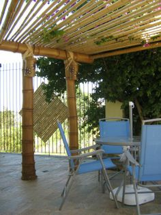 bamboo pergola | Pergolados