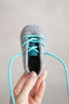 Felted Baby Booties  Felted Crib Shoes  Gray Baby Boy Crib