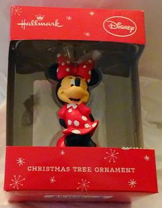 Hallmark Disney Minnie Mouse Christmas Ornament New $19.99