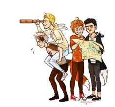 5sos as lost boys from Peter Pan.<<<<< awwwe so cute! Lukes a bunny  Micheal is a wolf  Calums a badger  And Ashton is a fox
