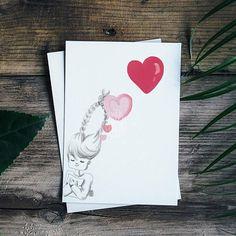#cute #greetingcard #love #valentinecard
