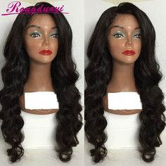 Find More Human Wigs Information about Unprocessed Virgin Human Hair Full Lace Wigs Brazilian Body Wave Lace Front Wigs Glueless Full Lace Human Hair Wig Best Lace Wig,High Quality wigs for hair loss,China wigs european Suppliers, Cheap wig curly from Luffy Virgin wig on Aliexpress.com