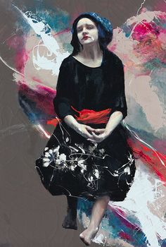 Floating Thoughts, Lita Cabellut