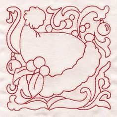 "Here's a free embroidery design called ""Santa Hat Quilt Block"".  Grab this one for Christmas!"