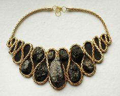 Coal necklace by CoalJewelry on Etsy