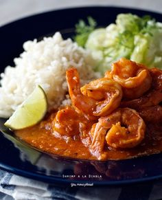 Deviled Shrimp Camarones a la Diabla