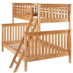 Natural Twin-Over-Full Bunk Bed  | The Land of Nod