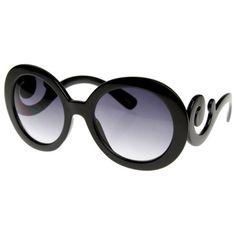 8fb7464246df Black Swirl Sunglasses Summer Sunglasses