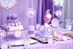 Princess Sofia dessert table