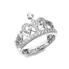 Crown Princess Tiara Ring