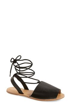 Topshop 'Holly' Lace-Up Sandal (Women)
