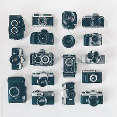 Retro Camera Collection by Micky Wiswedel