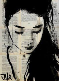 "Saatchi Art Artist Loui Jover; Drawing, ""sometimes yes"" #art"