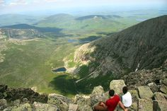 Mt. Katahdin: one of the best non-technical peaks you can summit in the US!