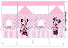 caixa milk minnie rosa
