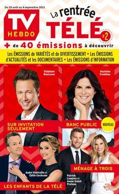 Stephane Rousseau, Public, Tv, Magazine, Comic Books, Guide, Digital, Cover, Movie Posters