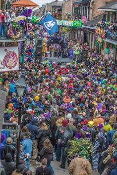 Mardi Gras New Orleans 2015