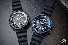 Seiko Prospex Automatic Diver 200m 'Baby Tuna' 4R36 (Black ref. SRP655K1 & Blue ref. SRP653K1) – Review with Live photos & Price