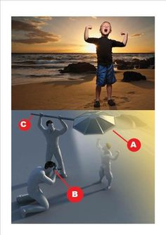 How to take sunset portrait photo