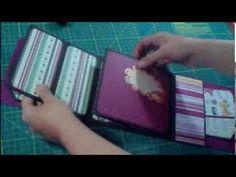 tutorial mini album flip flap con taschine - YouTube Avec de nombreuses pochettes et cachettes : extra !