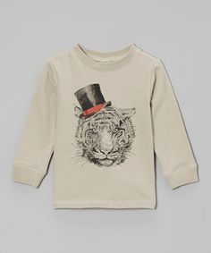 Take a look at this Mist Tiger Organic Tee - Infant & Toddler by Nosilla Organics on #zulily today!