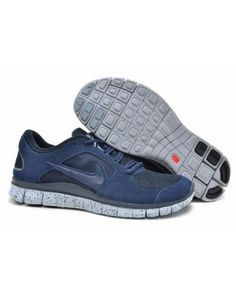 cheap for discount f07d4 ae5d9 Men Nike Free EXT in Navy Blue White Suede Shoes All kinds of Cheap Nike  Shoes are provided in Nike store with superior quality and super  workmanship to ...