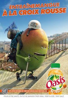Oasis - Publicité localisée (Lyon)